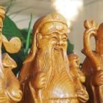 Kim's Vietnamese Restaurant Three Wise Men Wood Carving