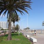 Gandia Beach Boardwalk