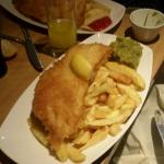 Best and biggest fish and chips ever. The portion sizes are massive great value for money. Do no