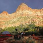 South Campground, Zion NP - site #126