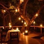 Romantic setting