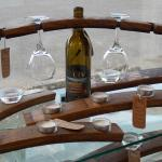 Lopez Wine Barrel Candle holders