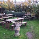The beer garden - should be good in the summer