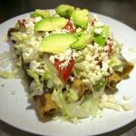 orden de Tacos dorados