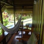 Small terrace with hammock