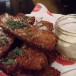 yummy zucchini fritti with lemon aioli