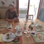 breakfast area in kitchen