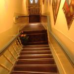Крутая лестница с улицы