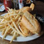 Walleye Sandwich