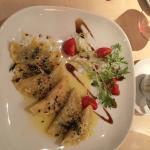 hausgemachte Tortellini mit Salbeibutter, ein Traum! Sehr freundliches und kompetentes Service!