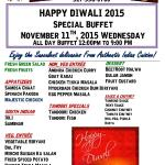 Special Buffet For Diwali_2015