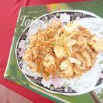 sauté de crevettes (shop suey )