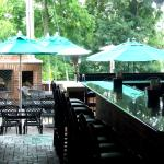 Outdoor Bar and Dining Area