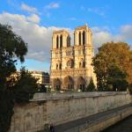 Notre Dame is nearby