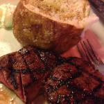 Filet steak and bake:)