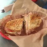 Turkey sandwich-seriously yummy.