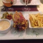 Jambonneau moutarde