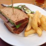 Beef sandwich was good