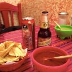 El Trompo Chips and Salsa and Beer - YAY