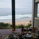 traumhaft schöner Ausblick vom Frühstücks Tisch aus...