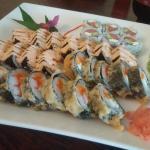 Beautiful sushi rolls!