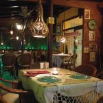 The beautiful interior of Bistro Clou