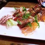 Botan Shrimps and Tako Sashimi