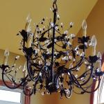 Spectacular Chandelier in new Dining Room addition