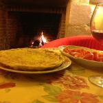 Cena en la Chimena