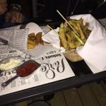 Patatine fritte e verdure pastellate!👍