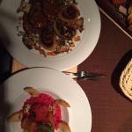 Wildschweinbraten und Rote Bete-Risotto 👏🏻👍