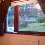 A vista do nosso quarto
