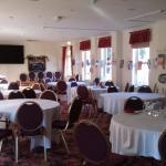 Very spacious dining area