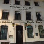 アルトシュタットでは珍しい、ワインハウスを店名に付けたレストラン