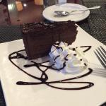 Fantastic Chocolate Mousse and Chocolate Fondant Cake.