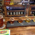 Outer Light Brewing Company - Flight and a pint