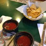 Addictive chips and salsa as soon as you sit down!