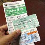 オイスター引換券付き往復切符