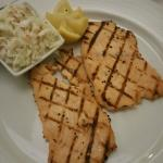 dry salmon