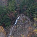 清見展望台から見たおおくら滝