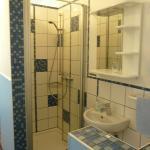 Badbereich Einzelzimmer