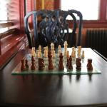 A relaxing game of chess