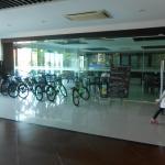 ใช้จักรยานให้ลูกค้าใช้ฟรี