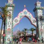 Entrance to feria 2015