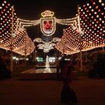 Feria at night