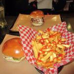 Fries & Pulled Pork Sandwich