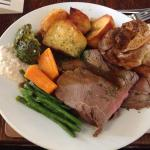 Truly superb Roast Beef Sunday Lunch - I cannot remember a better one