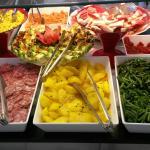 Opções de salada