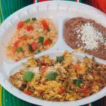 Machaca, Beans & Rice