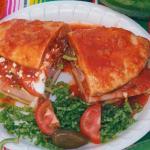 Torta Ahogada,  Spicy Mexican Sandwich